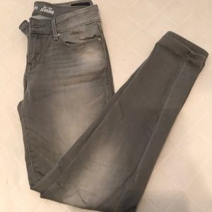 Gray Levi Low Rise Jeggings